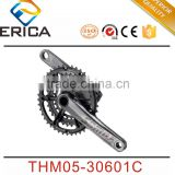 Cheap MTB Bike Chainwheel Hollow Alloy Forged Bicycle Crank Mountain Bike Crankset