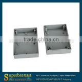 "Plastic Box Junction Case-3.49""*2.55""*1.37""(L*W*H) black extruded aluminum project box"
