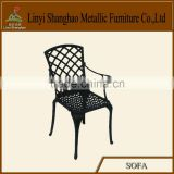 Hot sale! Cast aluminum dining antique hair salon chairs for sale