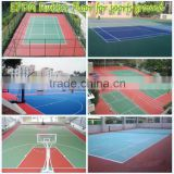 Basketball/Football Court, Outdoor rubber Playground material, kindergarten playground-FN-A-16080501