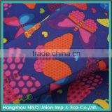 Alibaba China durable 300d polyester waterproof outdoor beach bean bag fabric with back fire