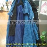 Cotton fabric rags for industrial wiping