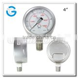 High quality stainless steel mechanical oil pressure gauge with bottom connection                                                                         Quality Choice