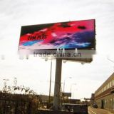 high resolution smd 3535 p6 outdoor advertising double sided led display sign