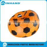 Orange Color Phthalate Free PVC Foldable Water Proof Football Inflatable Sofa/ Air Chair