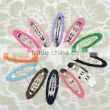 5cm Ellipse Bobby Pin,DIY Children Hair Accessories,Candy Color BB Hair Clip
