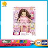 16 inch sound control doll with beauty kid dress can dance doll for sale