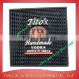 SGS eco-friendly custom branded PVC rubber bar mat