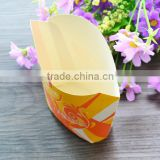 disposable Take away chips and fried chicken food paper box packing boxes