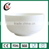 Wholesale restaurant dinnerware set porcelain salad bowl white soup bowl with custom logo