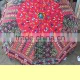 Latest Design Indian Ethnic Handmade Garden parasols,Bohemian Embroidered Garden Parasols,Handmade Indian garden umbrella