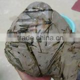 Wholesale large natural raw tourmaline rutilated crystal prism