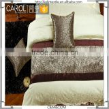top grade hotel chinese extra long smooth surface bed runner