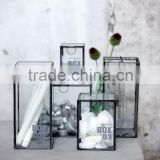 Multipurpose Box Glass Cabinet, Storage Glass Box, Glass Display Box, Bangle Box, Triangle Box, Diamond Box, Triangle Shape 001