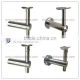 Handrail Bracket & Support round handrail bracket/aluminum handrail fittings/stainless steel handrail/removable handrail