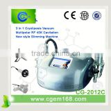3 in 1 cryo electroporation +40K cavitation +multi polar RF slimming machine lipo lasersuction equipment