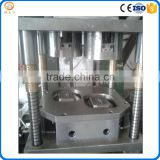 Automatic aluminum foil container making machine