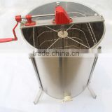 Promotion !!! stainless steel 4 frames honey extractor manual and electric honey machine made in China