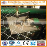 professional factory supply good quality manual operated chain link fence machine making