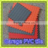 2016 Coin Pattern Garage Interlocking Floor Tiles in plastic