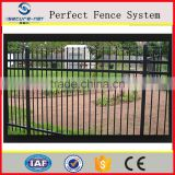 hebei secure-nett professional factory village and garden metal railing cheap vinyl used fencing