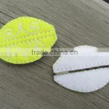 Hot new bestselling product wholesale alibaba handmade Swirl Felt Bobby Pin Cover made in China