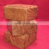 Hand Made Wooden base for figures/miniatures red wood burl
