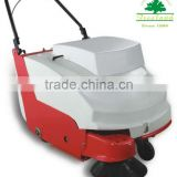 Sweeper with battery