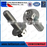 DIN6921 Hex M6 Titanio Flange Bolts with Hole by LIUWEI