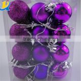 Christmas balls baubles tree decor hanging party ornament plastic christmas ball