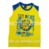 BOYS SLEEVELESS T-SHIRT