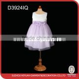 2015 the new Lace flowers girl dress D3924IQ
