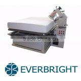 Mattress making machine tape edge machine with adjustable table