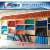 Glazed Tile Roof Panel Making Machine / Plastic Extrusion Line with 880mm / 1040mm width