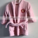 Wholesale 100% cotton kids terry bathrobe