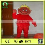 HI hot sale red boy costume