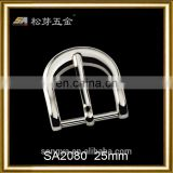 China Professional Metal Buckle Accessory For Leather Bag, PVD Plating Leather Bag Buckle Metal