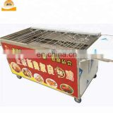 Durable wood charcoal carbonization furnace chicken roaster machine rock chicken furnace