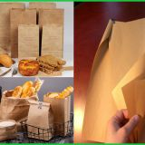 70GSM Food Grade Kraft Paper Reel For Making KFC McDonaldin Paperbags