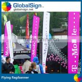 Shanghai GlobalSign wind resistant blade banners signs