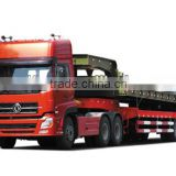Strong Loading Capacity Dongfeng Tri-axle Semi-trailer/Low bed semi-trailer/for construction machinery transport