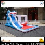 inflatable water slide/ bouncy castle with slide                                                                         Quality Choice
