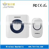 FORRINX wireless flashing doorbell for the deaf,the receiver will flash after push button pressed