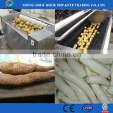 100kg/h Electric Potato Peeler with Brush