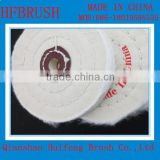 Mini cotton buffing wheel