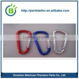 Strong D type Mountain /rock climbing Carabiners BCR 0402                                                                         Quality Choice