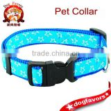 "Star Print 3/4"" Width Nylon Dog Pet Collar 13-19"" for Many Breeds High Quality"