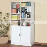 Modern office file cabinet design office bookcase wooden bookshelves (SZ-FCB349)
