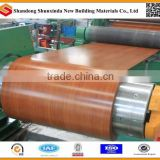 wood design color coated steel sheet in coils/PPGI /PPGL Boxing