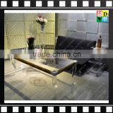 2016 Transparent /clear acrylic/ plexiglass/ PMMA coffee/end table in living room for home/hotel/office from China